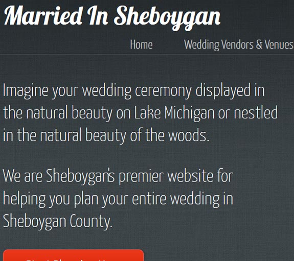 sheboygan weddings